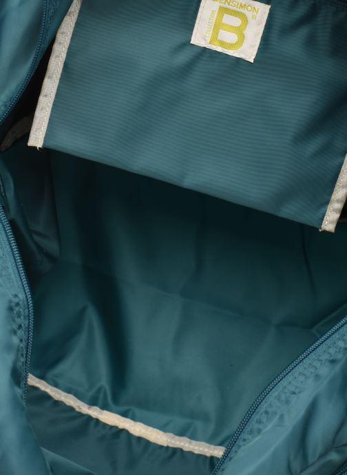 Sacs de sport Bensimon SPORT BAG COLOR LINE Vert vue derrière