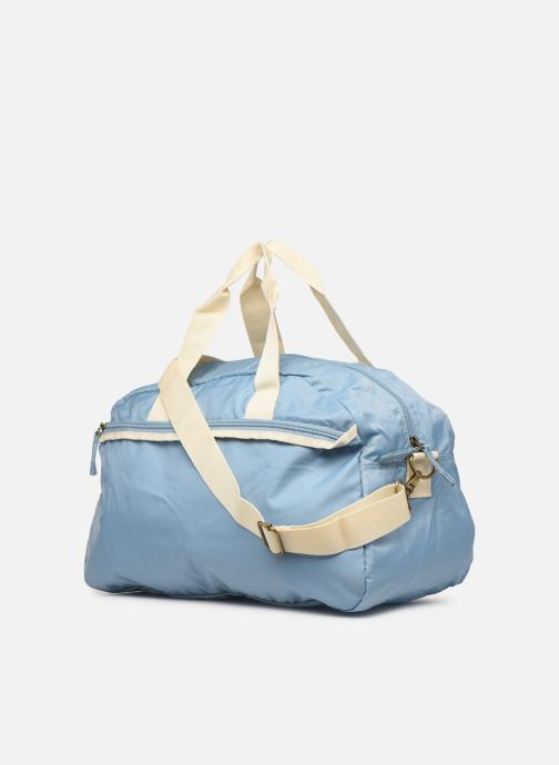 Sports bags Bensimon SPORT BAG COLOR LINE Grey view from the right