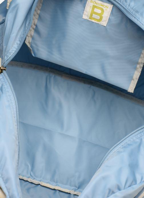 Sacs de sport Bensimon SPORT BAG COLOR LINE Gris vue derrière