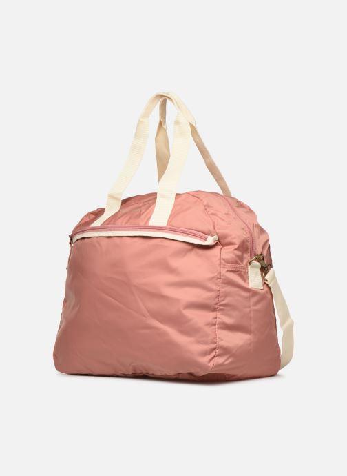 Sporttaschen Bensimon TOURBAG COLOR LINE rosa schuhe getragen