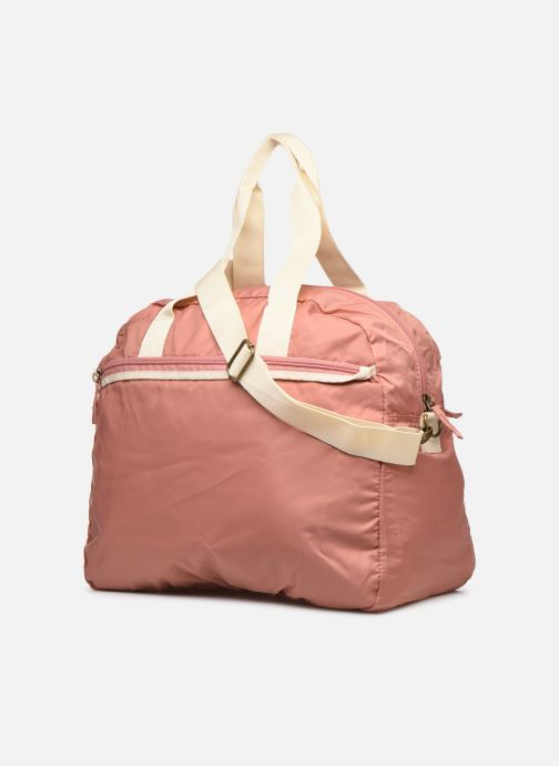 Sports bags Bensimon TOURBAG COLOR LINE Pink view from the right