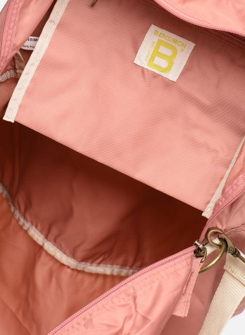 Sporttaschen Bensimon TOURBAG COLOR LINE rosa ansicht von hinten