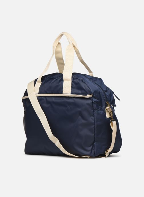 Sports bags Bensimon TOURBAG COLOR LINE Blue view from the right