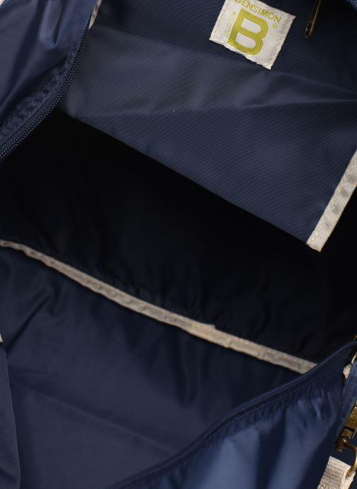 Sporttaschen Bensimon TOURBAG COLOR LINE blau ansicht von hinten