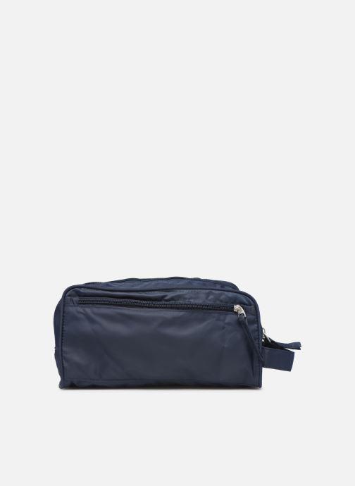 Luggage Bensimon TOILETERY BAG TRAVEL LINE Blue front view