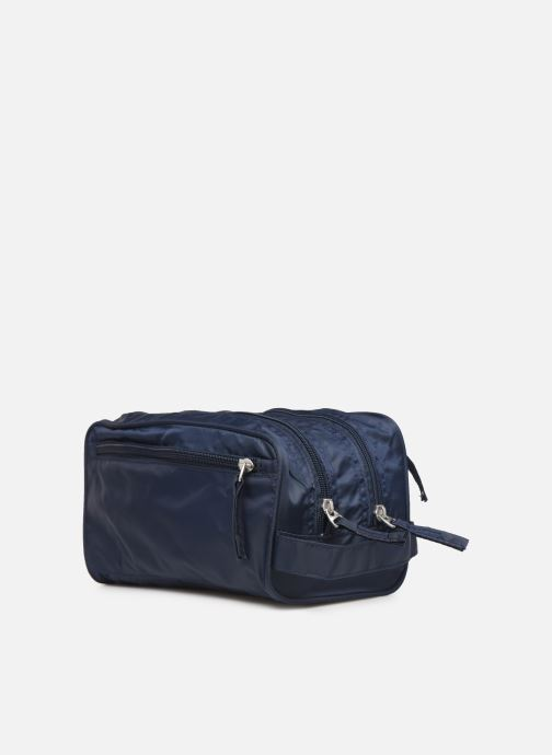 Luggage Bensimon TOILETERY BAG TRAVEL LINE Blue view from the right