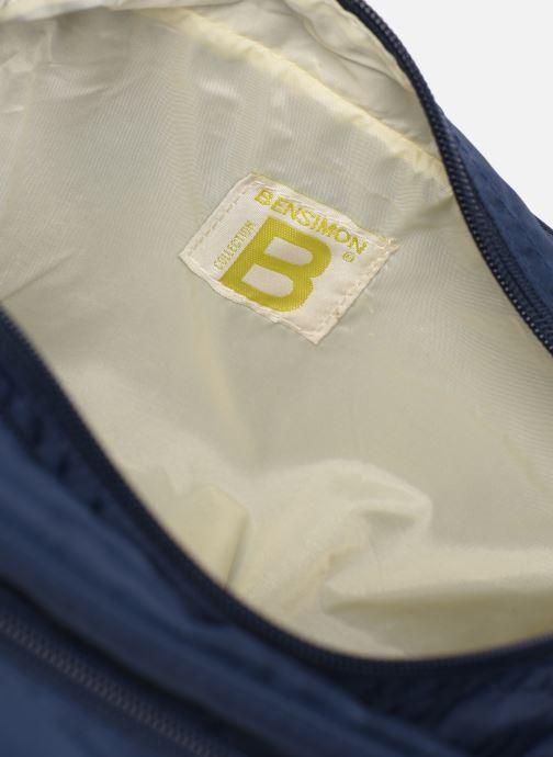 Luggage Bensimon TOILETERY BAG TRAVEL LINE Blue back view