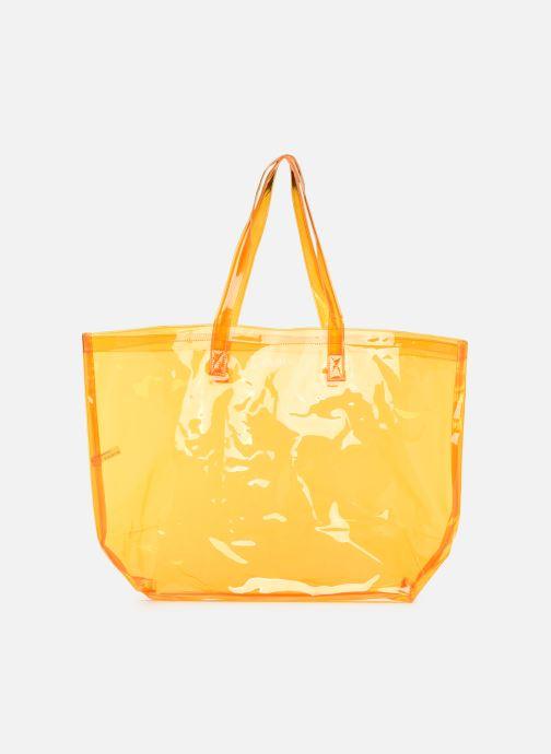 Sacs à main Bensimon TOTE SUMMER LINE Orange vue détail/paire
