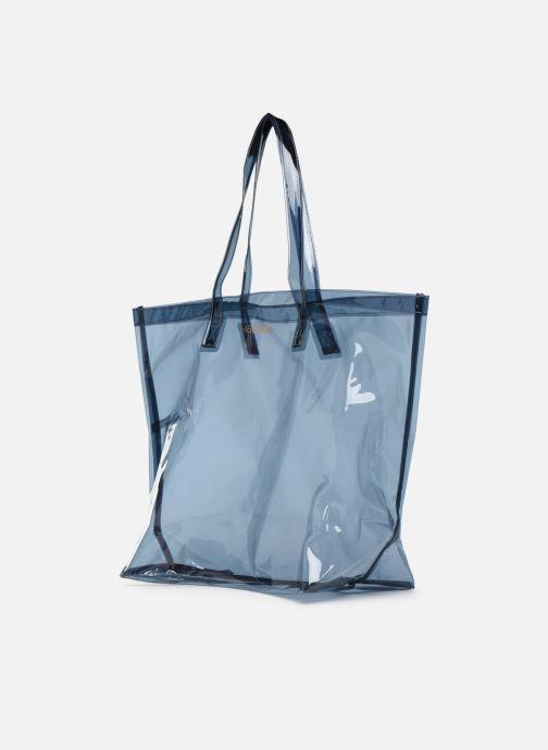 Handtaschen Bensimon TOTE SUMMER LINE grau schuhe getragen