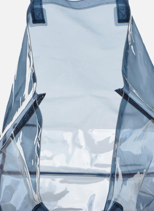 Handtaschen Bensimon TOTE SUMMER LINE grau ansicht von hinten