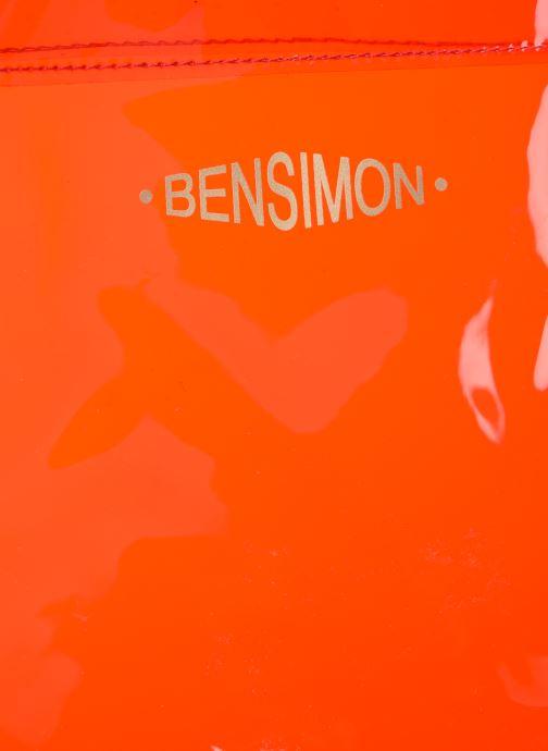 Handtassen Bensimon TOTE SUMMER LINE Rood links