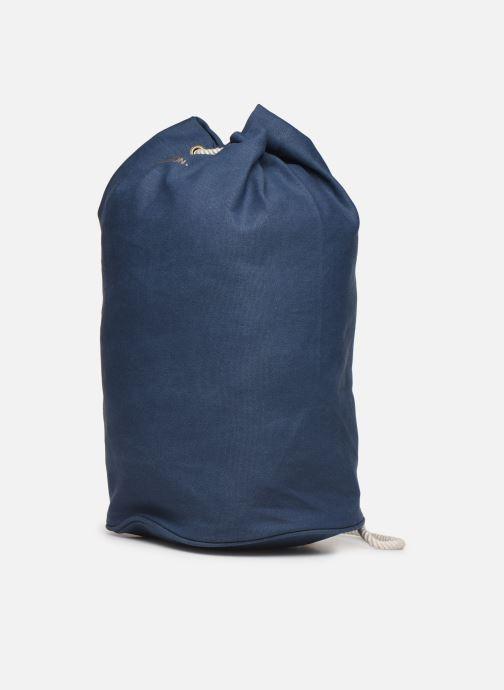 Sacs à dos Bensimon SAILOR BAG CANVAS AUTHENTIQUE Bleu vue portées chaussures
