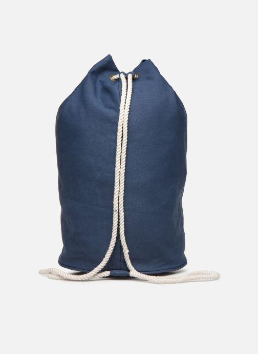 Rucksäcke Bensimon SAILOR BAG CANVAS AUTHENTIQUE blau ansicht von vorne