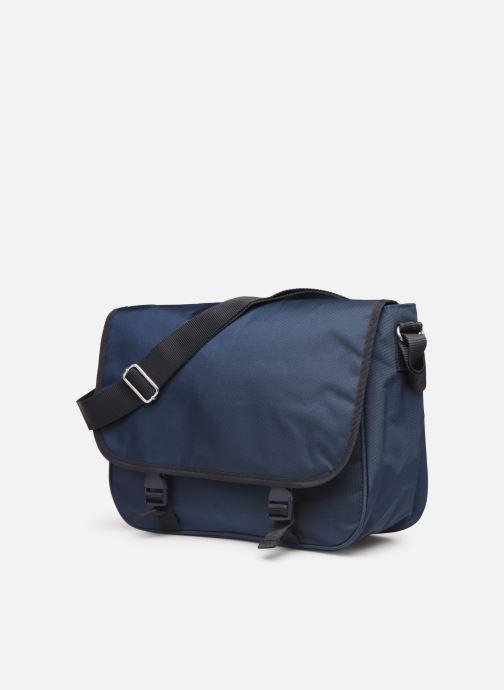 Men's bags Bensimon BESACE WORKING LINE Blue model view