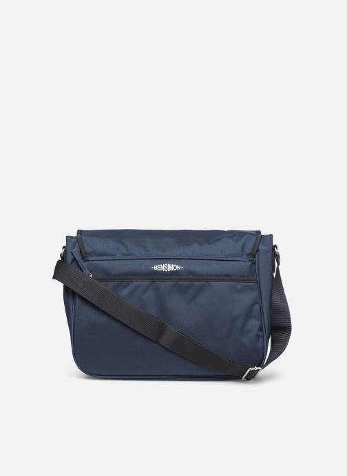Men's bags Bensimon BESACE WORKING LINE Blue front view