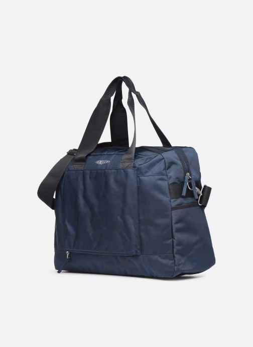Sporttaschen Bensimon WEEKEND BAG WORKING LINE blau schuhe getragen