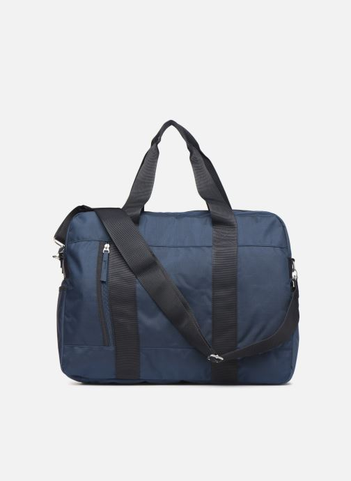 Sports bags Bensimon WEEKEND BAG WORKING LINE Blue front view