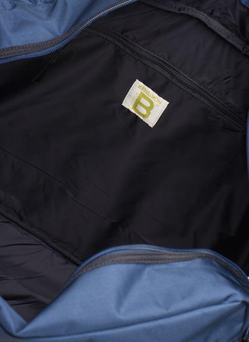 Sporttaschen Bensimon WEEKEND BAG WORKING LINE blau ansicht von hinten