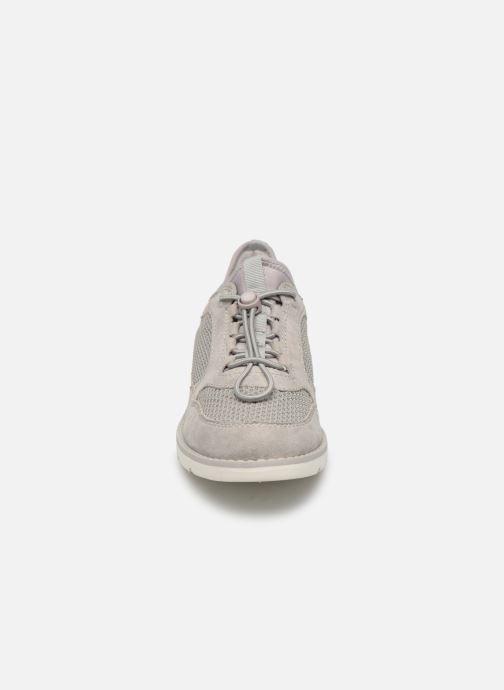 Baskets Jana shoes FLORA Gris vue portées chaussures