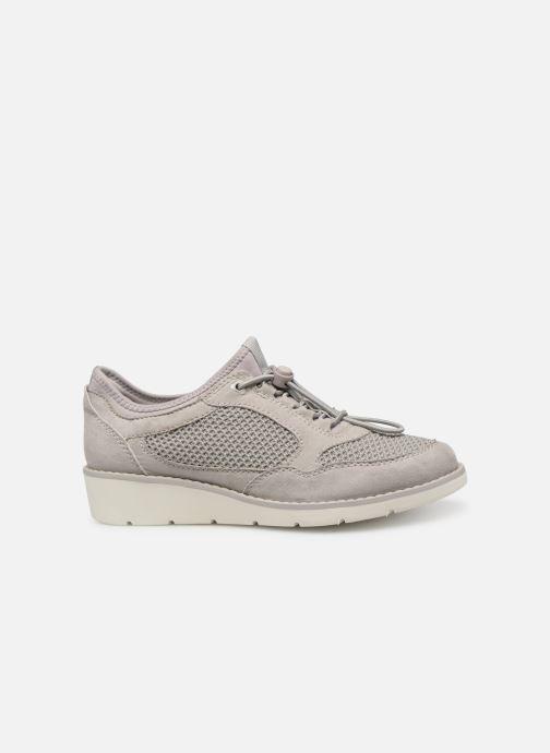 Sneakers Jana shoes FLORA Grijs achterkant