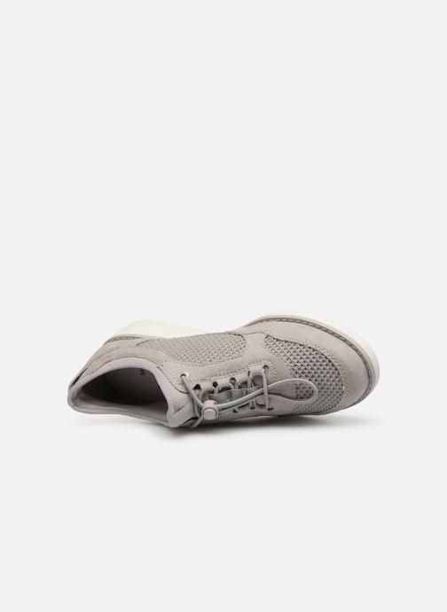 Baskets Jana shoes FLORA Gris vue gauche