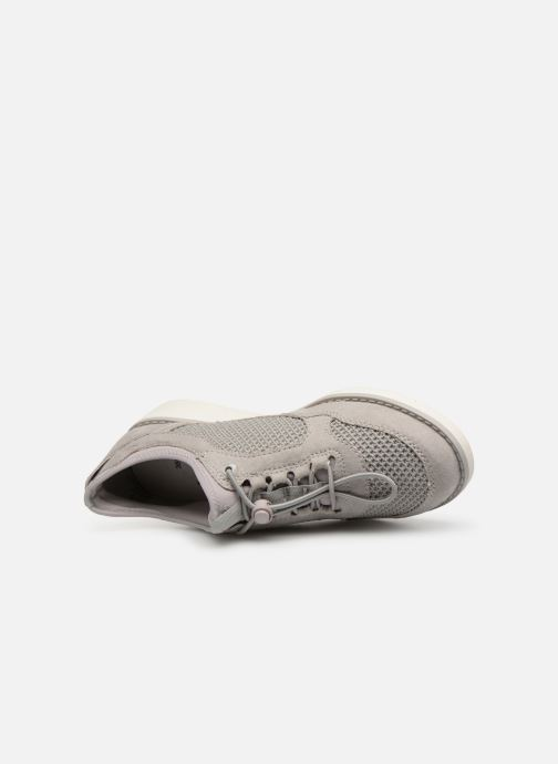 Trainers Jana shoes FLORA Grey view from the left
