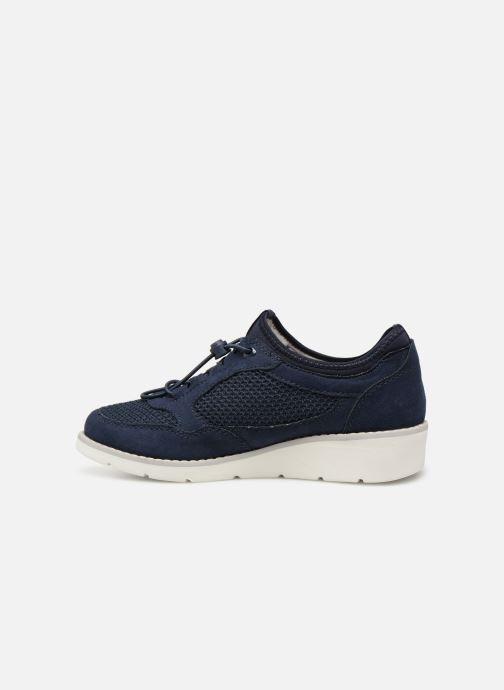 Baskets Jana shoes FLORA Bleu vue face