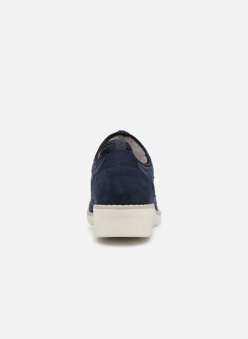 Baskets Jana shoes FLORA Bleu vue droite