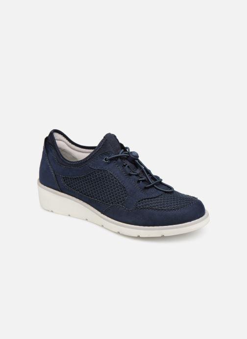 Baskets Jana shoes FLORA Bleu vue détail/paire
