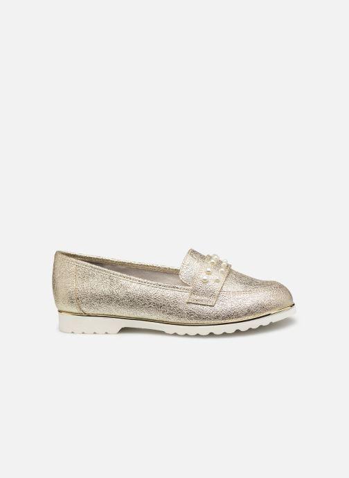 Mocassins Jana shoes CHIN Or et bronze vue derrière