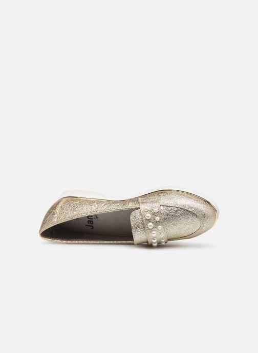 Mocassins Jana shoes CHIN Or et bronze vue gauche