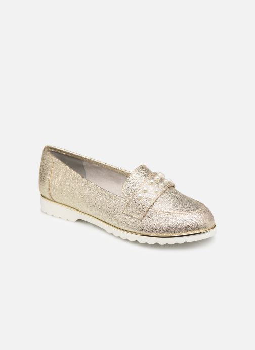 Mocassins Jana shoes CHIN Or et bronze vue détail/paire