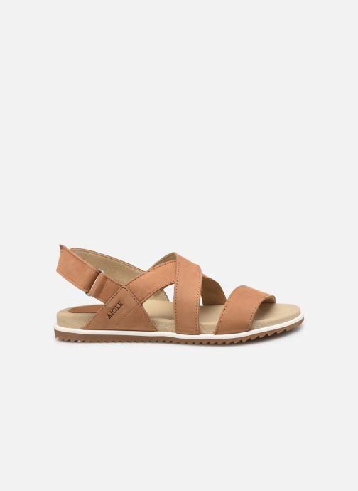 Sandales et nu-pieds Aigle Cayali Beige vue derrière