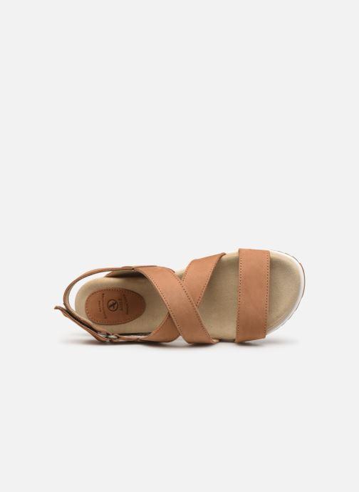 Sandales et nu-pieds Aigle Cayali Beige vue gauche
