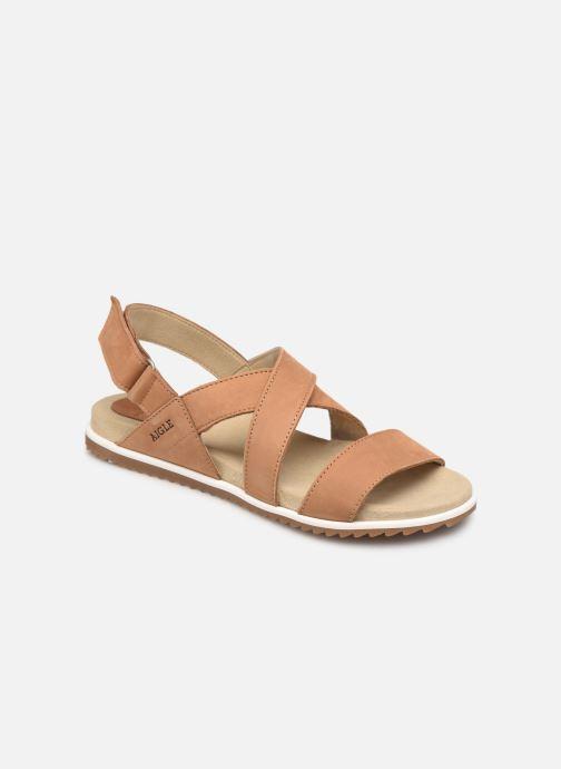 Sandales et nu-pieds Aigle Cayali Beige vue détail/paire