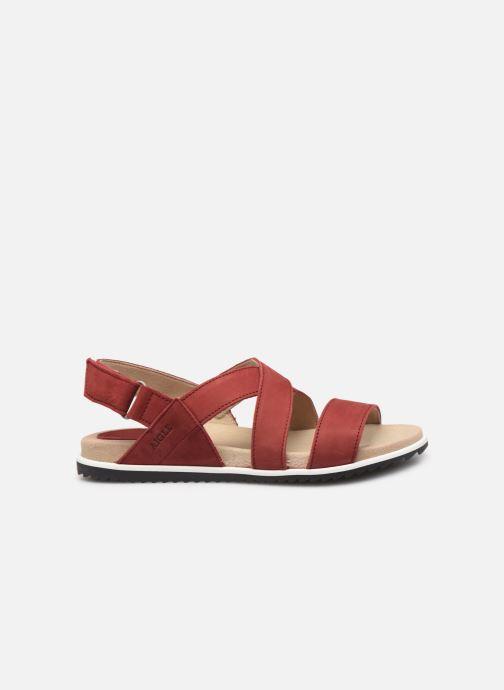 Sandales et nu-pieds Aigle Cayali Rouge vue derrière