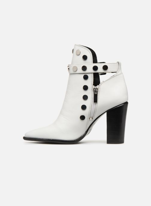 Ankle boots Bronx 33998 White front view