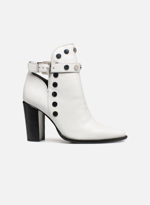 Stiefeletten & Boots Bronx 33998 weiß ansicht von hinten