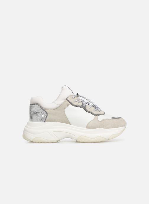 Sneaker Bronx 66167 weiß ansicht von hinten