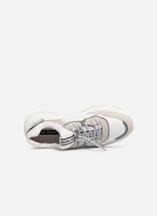 Sneaker Bronx 66167 weiß ansicht von links