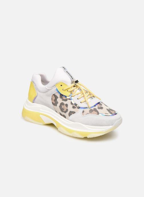 Sneakers Bronx 66167 Wit detail