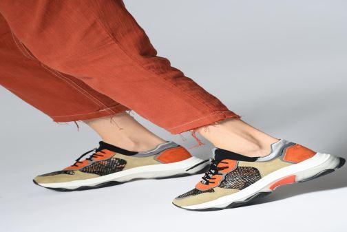 Sneakers Bronx 66167 Wit onder