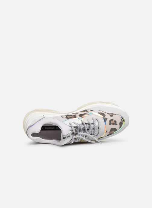Sneakers Bronx 66167 Bianco immagine sinistra