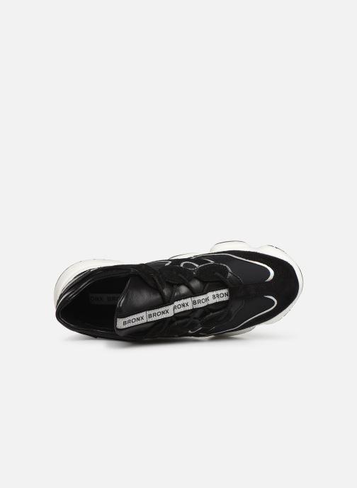 Sneakers Bronx 66240 Zwart links