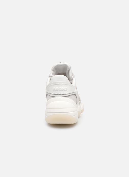 Baskets Bronx 66240 Blanc vue droite