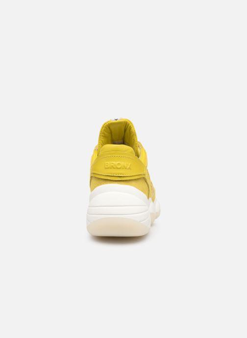 Sneakers Bronx 66240 Geel rechts