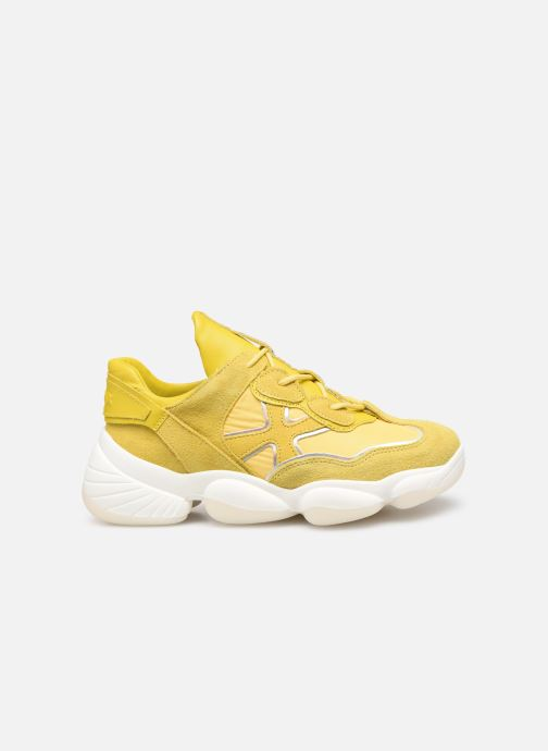 Sneakers Bronx 66240 Geel achterkant