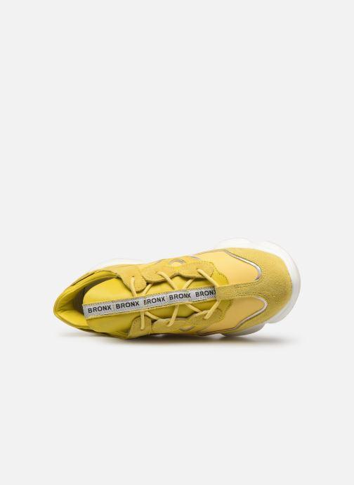 Sneakers Bronx 66240 Geel links