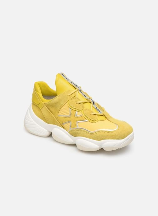 be52c554c5b1 Sneakers Bronx 66240 Gul detaljeret billede af skoene