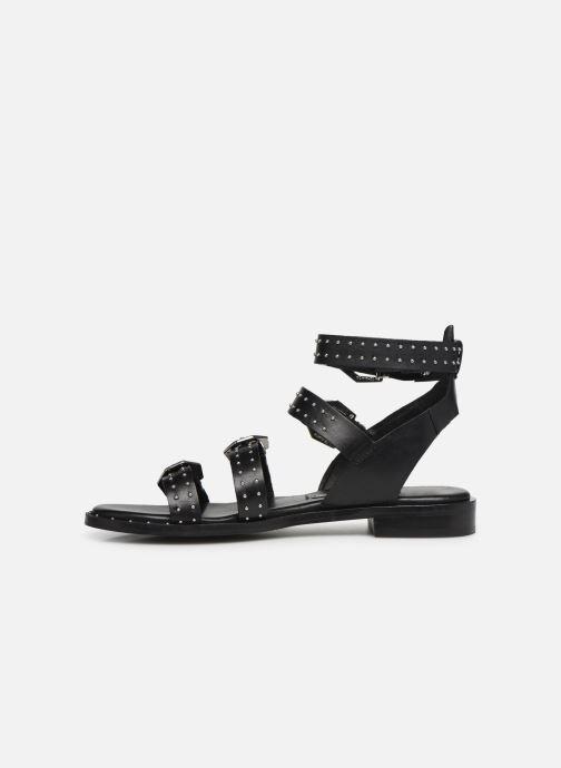 Sandals Bronx 84735 Black front view